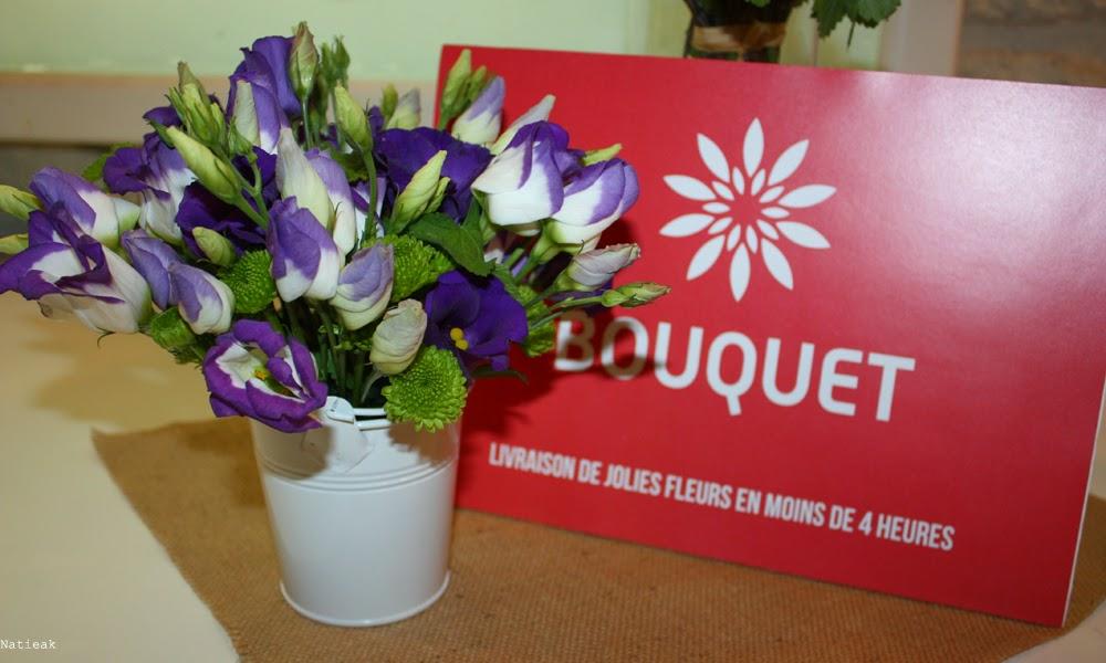 boite  Mon bouquet livré en 4 heures