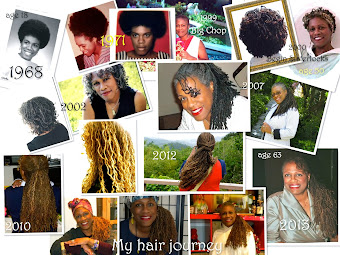 My hair thru the years