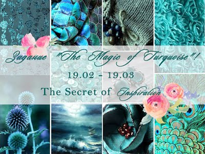 "Доска ""The Magic of Turquoise"" 19/03"