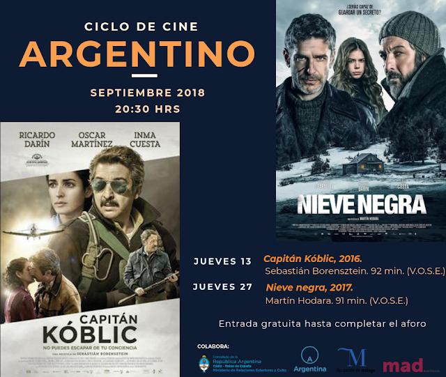 Ciclo Cine Argentino en el MAD Antequera