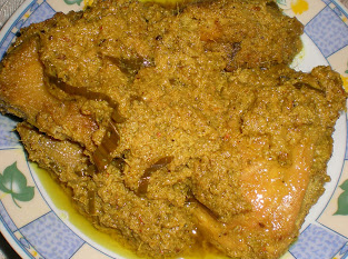 cara memasak rendang ayam minang