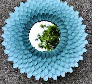 Plastik Kaşıklardan Çerçeve Yapımı