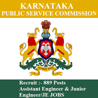 Karnataka Public Service Commission, KPSC, PSC, Graduation, JE, Junior Engineer, Assistant Engineer, freejobalert, Sarkari Naukri, Latest Jobs, kpsc logo
