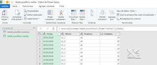 Power Query: Conexión a base de datos MySQL