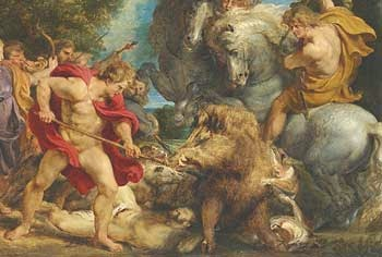 Hercules and Erymanthian Boar