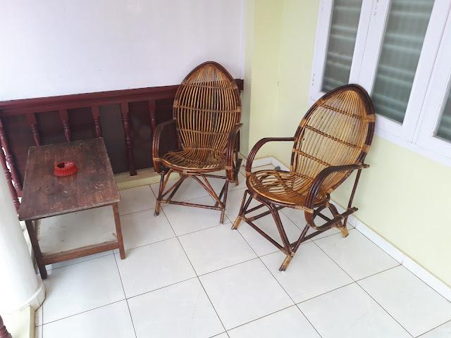Balcon de l'hôtel Sumangali