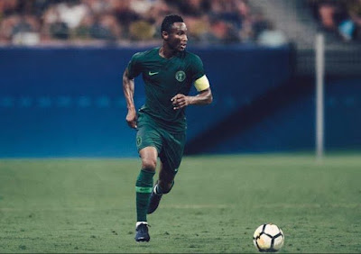 BUZZING TODAY: SUPER EAGLES UNVEILS NEW JERSEY FOR RUSSIA 2018 AND NIGERIANS DROP THEIR TWO CENTS