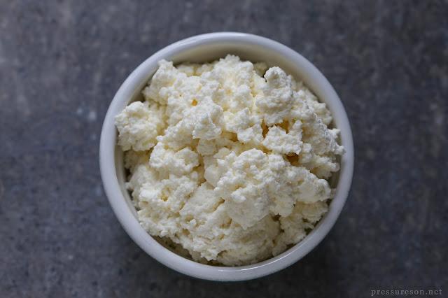 Fresh Ricotta Cheese - Pressure's On