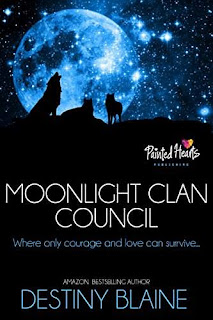 Moonlight Clan Council - A paranormal trilogy under one cover by Destiny Blaine