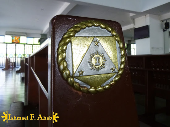 Philippine Army Seal in Saint Michael the Archangel Chapel, Fort Bonifacio
