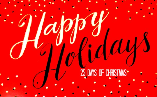 Happy 25 days of Christmas from Cordier Events