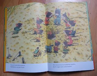 Kazuo Iwamura - Familie Maus im Garten