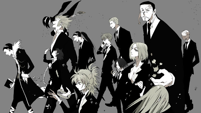 wallpaper hunter x hunter genei ryodan black & white