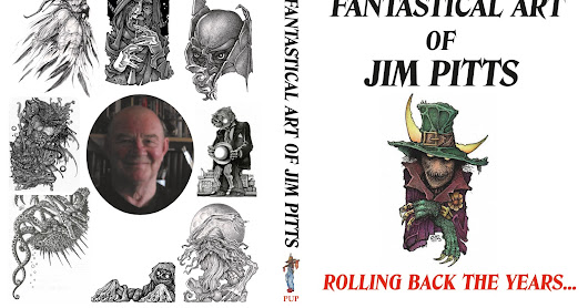 Limited Edition - The Fantastical Art of Jim Pitts