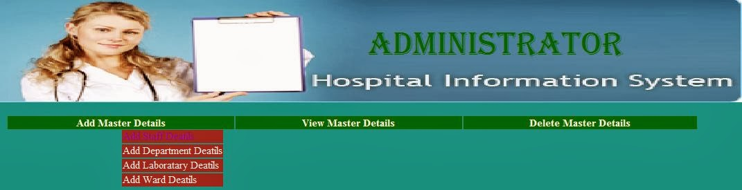 Free Projects Code: Advanced Hospital Management System Project in Java