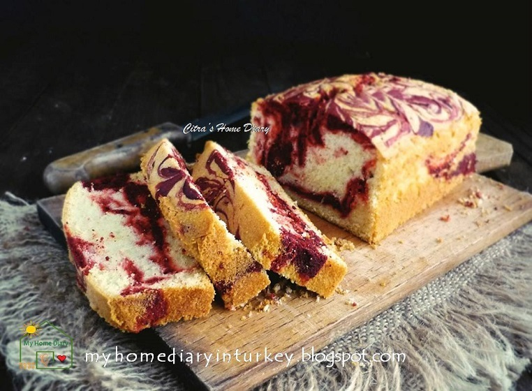 Steamed Marble Butter Cake