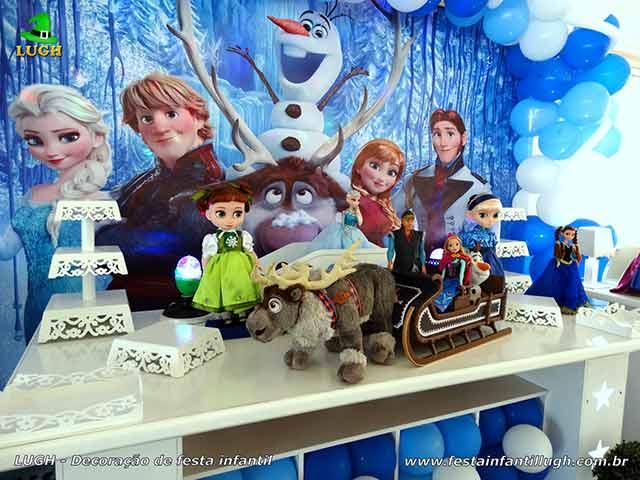 Temal Frozen - decoração - aniversário infantil