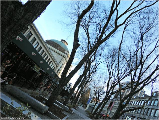 El Árbol de Navidad del Faneuil Hall Market