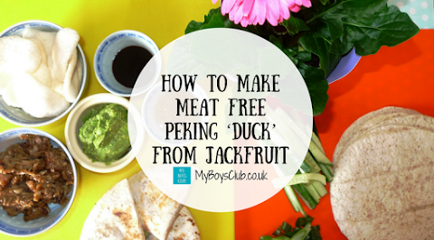 How to make Meat-Free Peking 'Duck' from Jackfruit