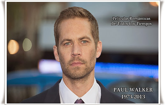 Paul Walker, 10 datos que debes saber del fallecido actor de Rápido y Furioso.
