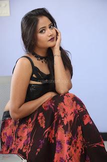 Shriya Vyas in a Tight Backless Sleeveless Crop top and Skirt 110.JPG