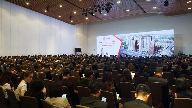 Rất đông các khách mời quan tâm tới Dự án CitiAlto đã tới tham dự lễ ký kết.