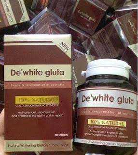 DE'WHITE GLUTA 2 IN 1