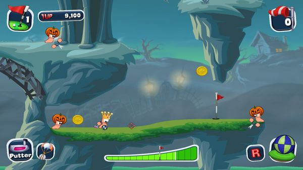 Worms Crazy Golf PC Game