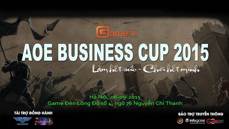 AOE GameTV Business 2015 – Đam mê không tuổi tác