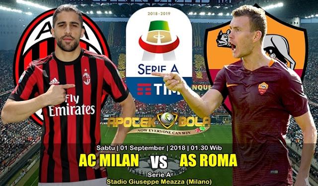 Prediksi Milan Vs Roma 1 September 2018
