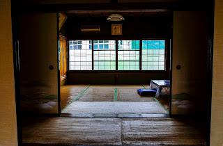 Traditional Japanese tea room