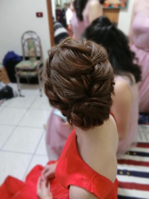 短髮編髮 | 短髮盤髮 | 短髮造型 | 短髮新娘