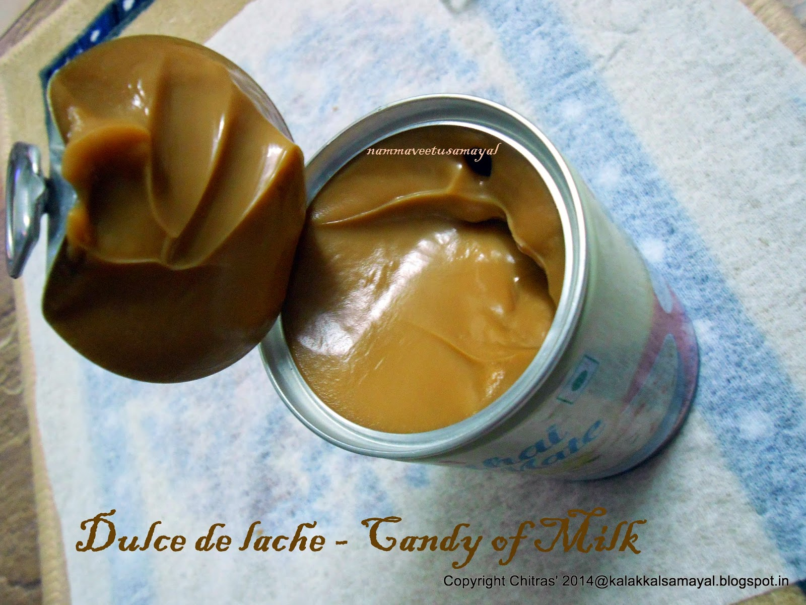 dulce de lache - candy of milk
