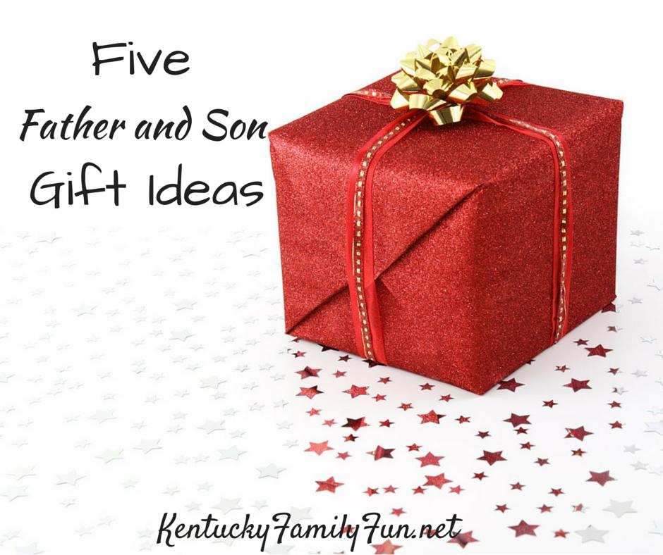 5 Father Son Christmas Gift Ideas