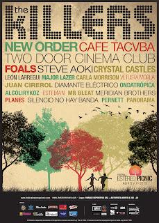 poster STERO PICNIC 2013 BOGOTA