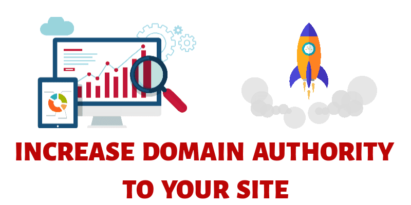 increase domian authority to your blogs