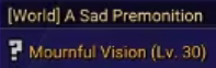 A Sad Premonition Mournful Vision MapleStory 2 quest daily dailies