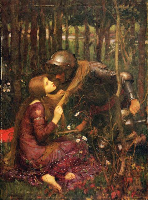 Πίνακας του Τζον Ουίλιαμ Γουότερχαουζ / John William Waterhouse: La Belle Dame sans Merci (1893)