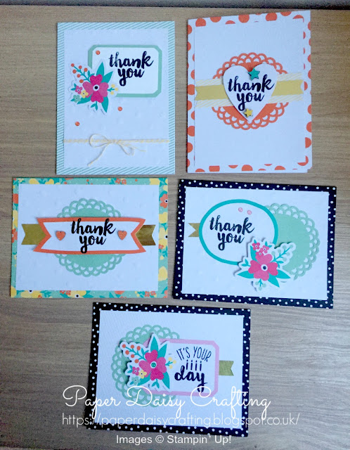 Oh happy day card kit from Stampin' Up!