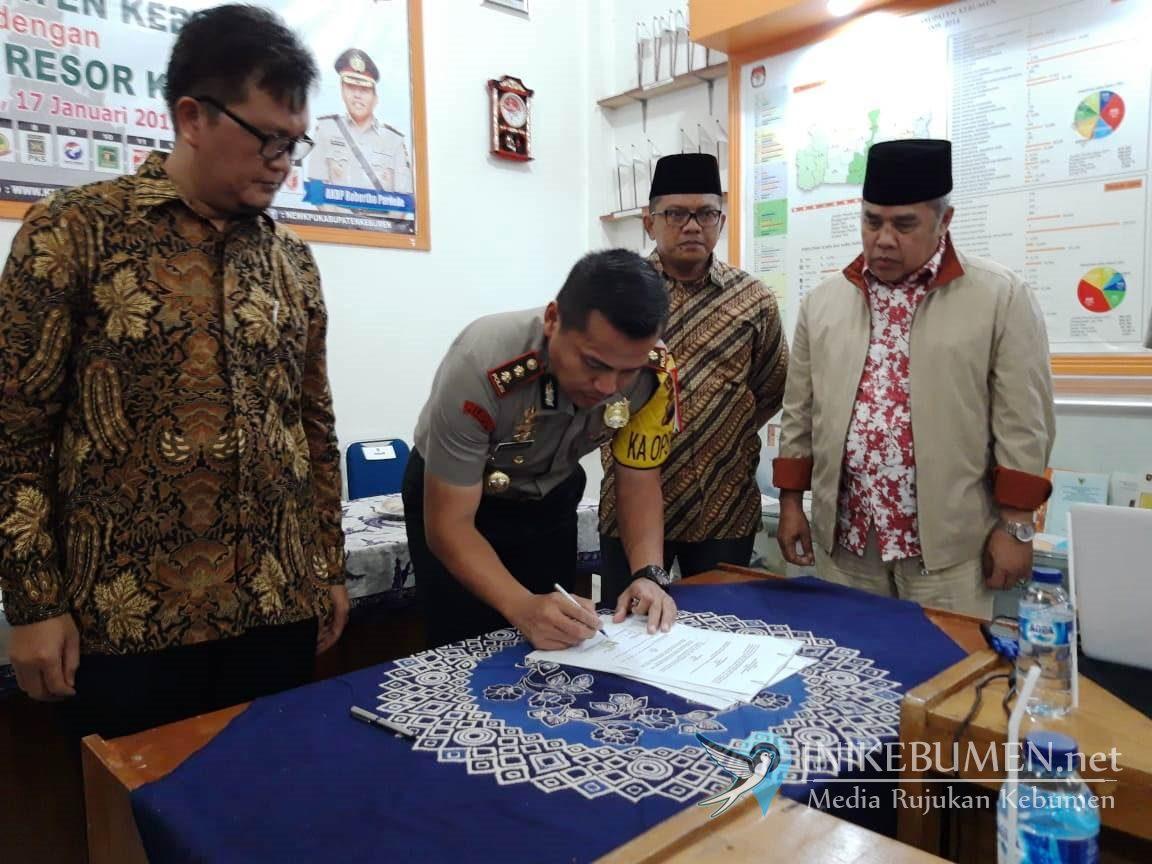Amankan Pemilu, Polres Kebumen Bakal Terjunkan 790 Personel