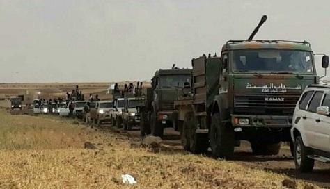 """على خطى""""جيش الإسلام"""" وتهديداً لمشروع التسوية فصيل في درعا يستعرض قوته العسكرية(فيديو)"""