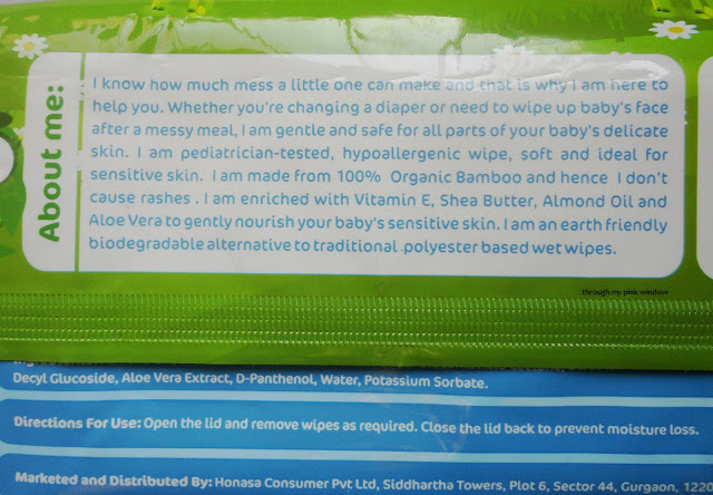 Mamaearth Organic Bamboo Based Baby Wipes Review