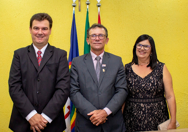 Nova Mesa Diretora da Câmara Municipal de Sairé toma posse para o biênio 2019-2020