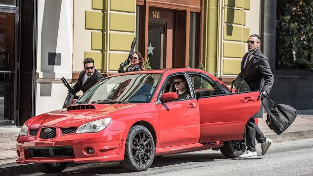 Ansel Elgort Jon Hamm Eiza González Jon Bernthal Edgar Wright | Baby Driver