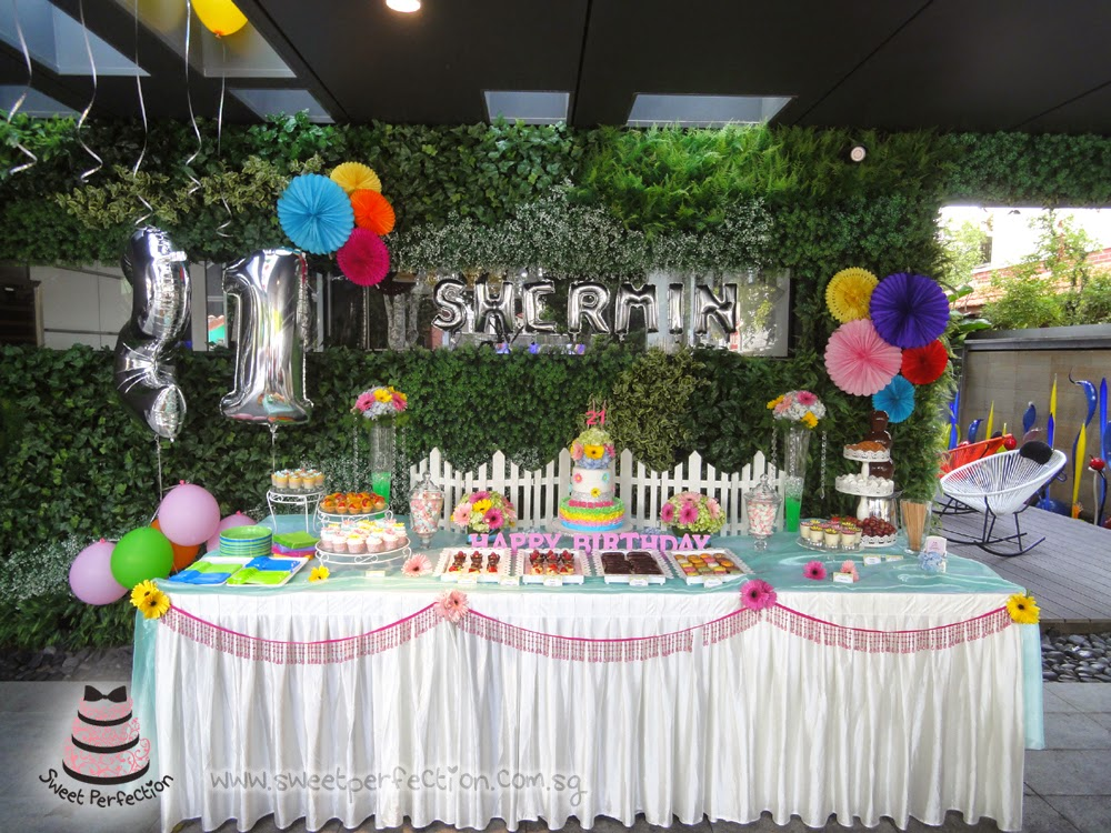 sweet perfection events shermin 21st birthday party