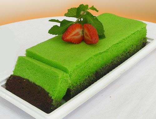 Resep Cake Kukus Untuk Jualan: Resep Mudah Kue Brownies Kukus Pandan Coklat Sederhana