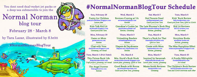 normal norman book tour