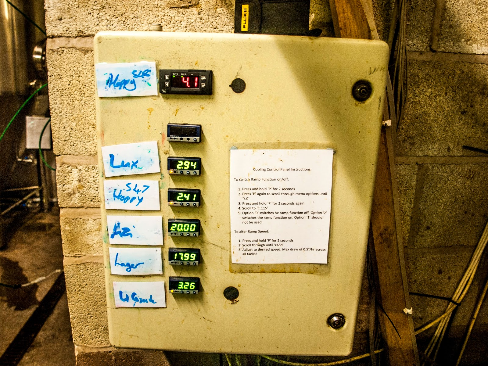 Hardknott Daves Beer And Stuff Blog Temperature Control Of On Off Fermentation