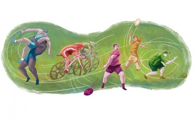 Google Doodle, Peringati 20 Tahun Olimpiade Commonwealth Games