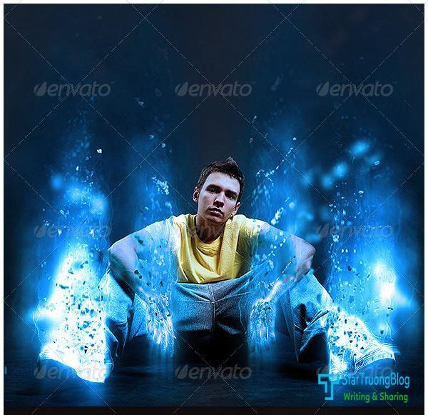 Photoshop Action hiệu ứng ánh sáng siêu đẹp